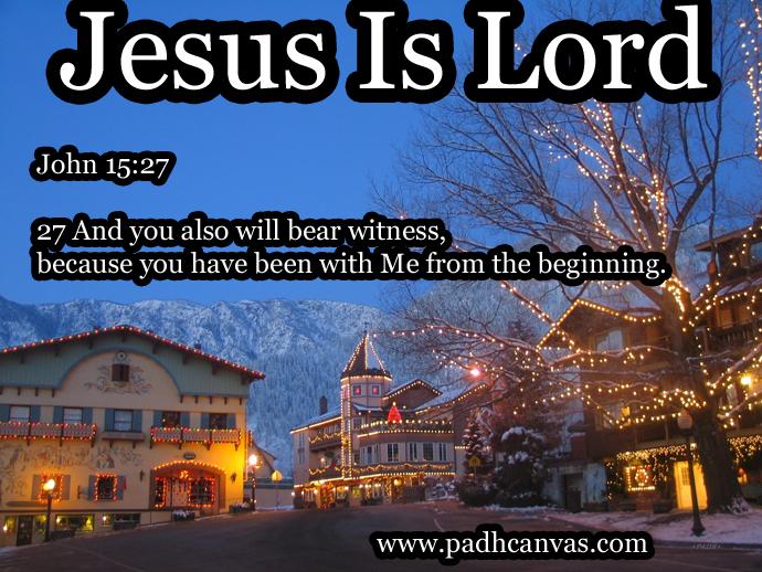 John 15:27