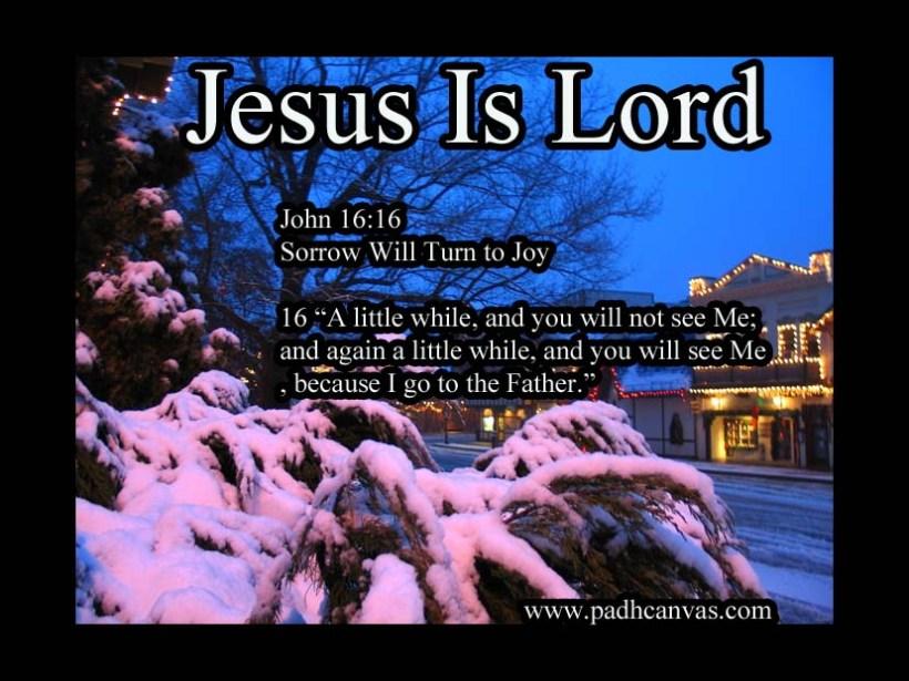 John 16:16