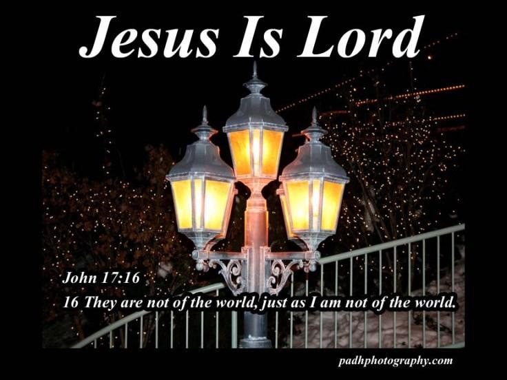 John 17 :16