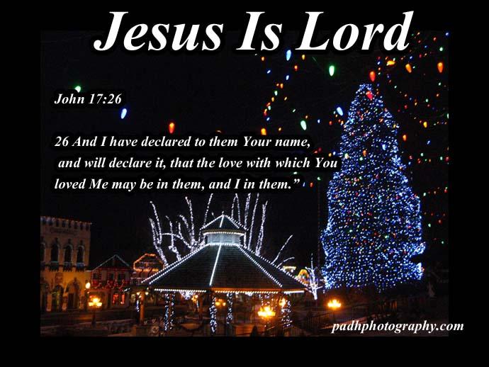 John 17 :26