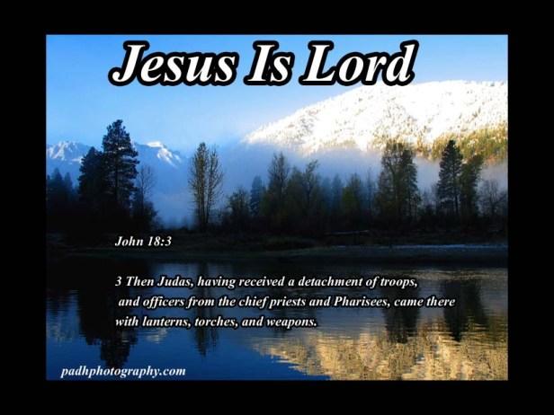 John18: 3