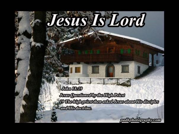 John 18:19