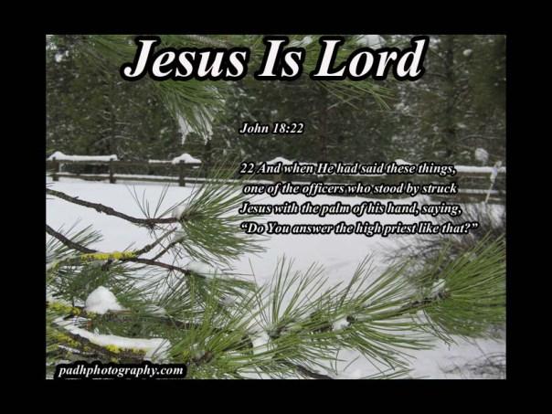 John 18:22