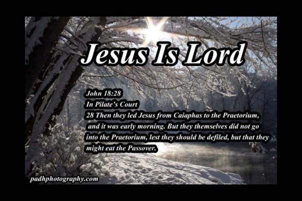 John 18:28
