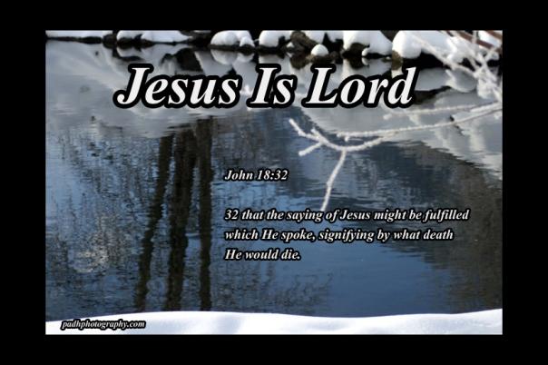 John 18:32