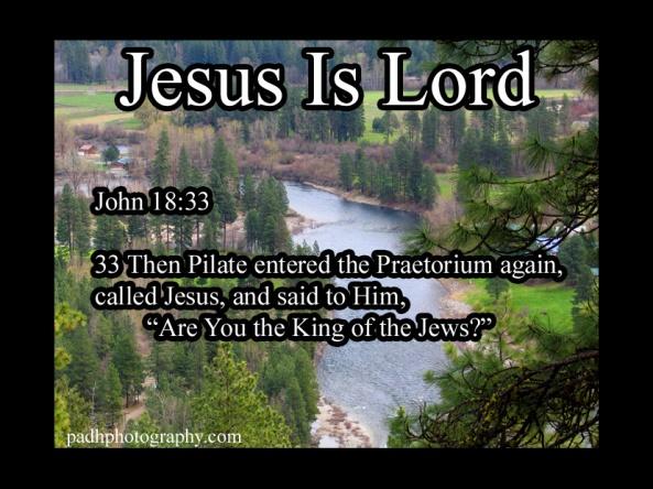 John 18 33