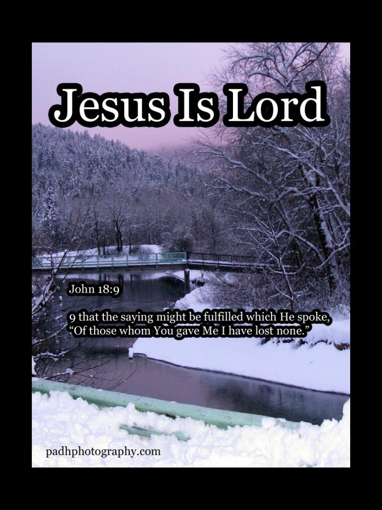John 18 :9