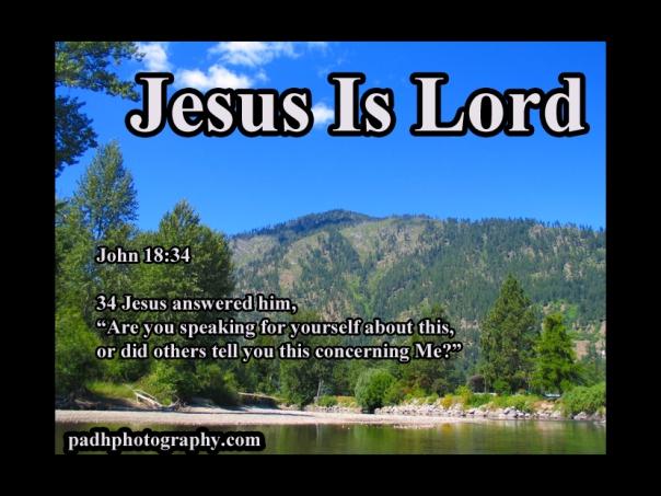 John 18:34