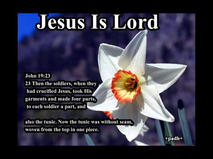 John 19 :23