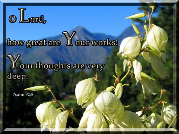 Psalm 92:5