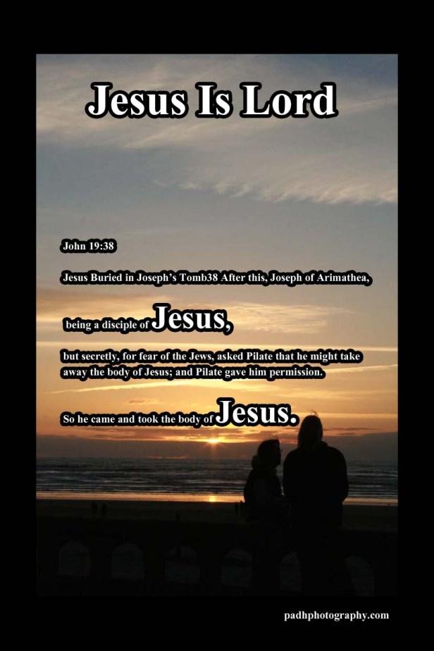 John 19: 38