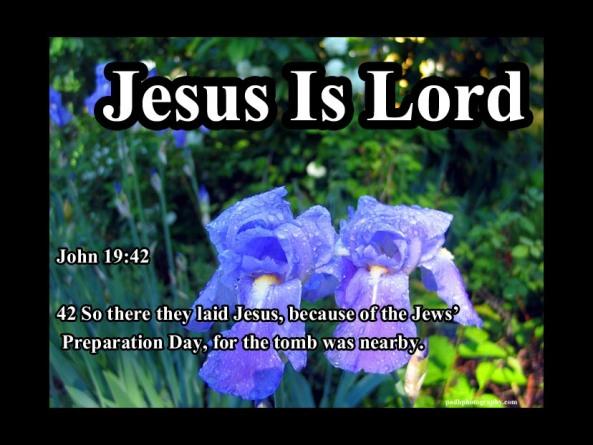 John 19:42