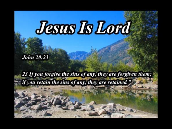 John 20: 23