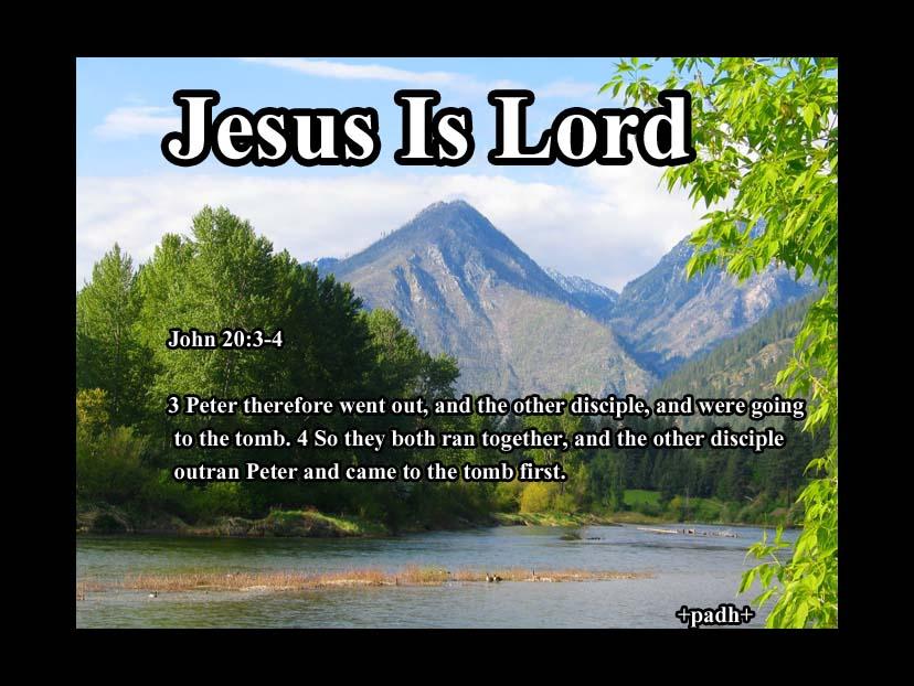 John 20:3-4