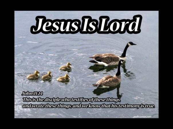 John 21: 24