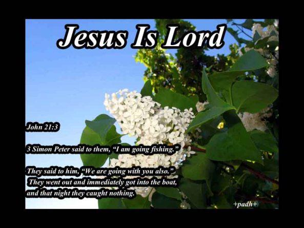 John 21 :3