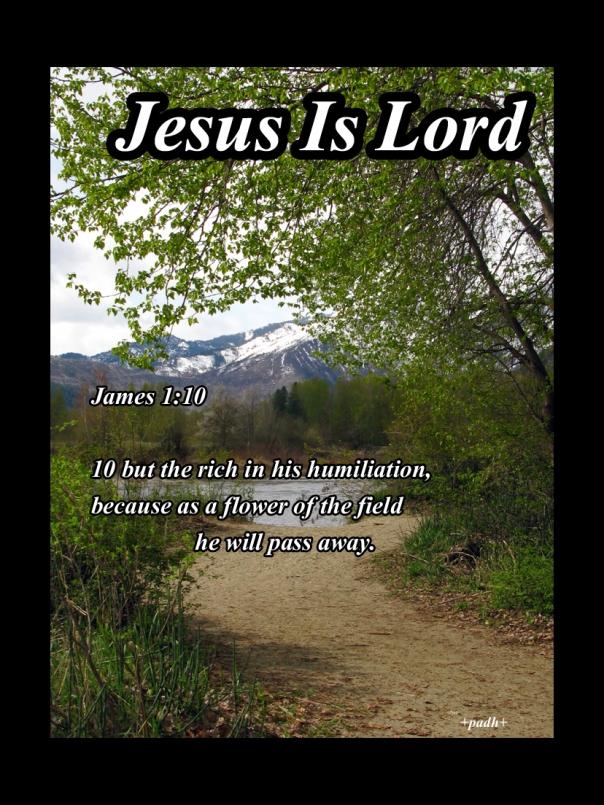 James 1: 10