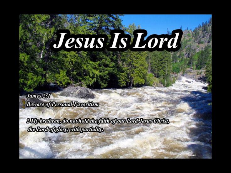 James 2: 1