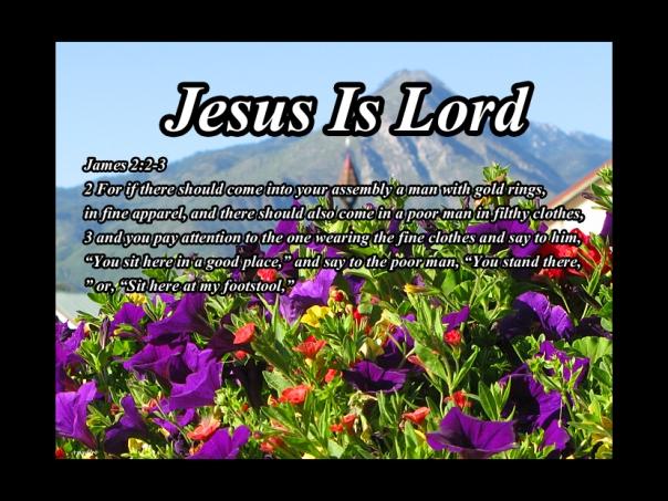 James 2:2-3