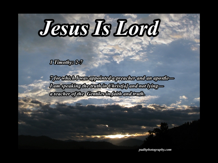 1 Timothy 2 7