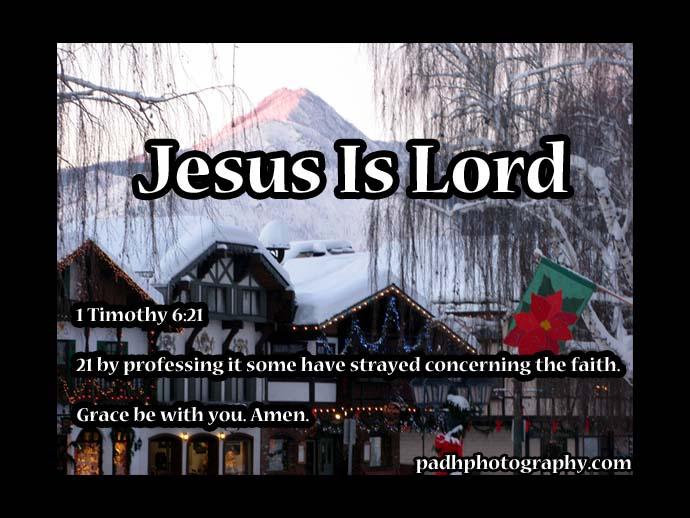 1 Timothy 6 21