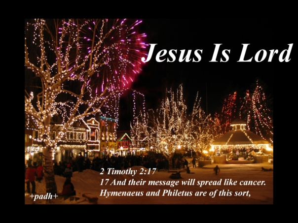 2 Timothy 2 17
