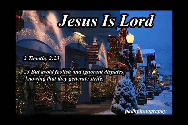 2 Timothy 2   23