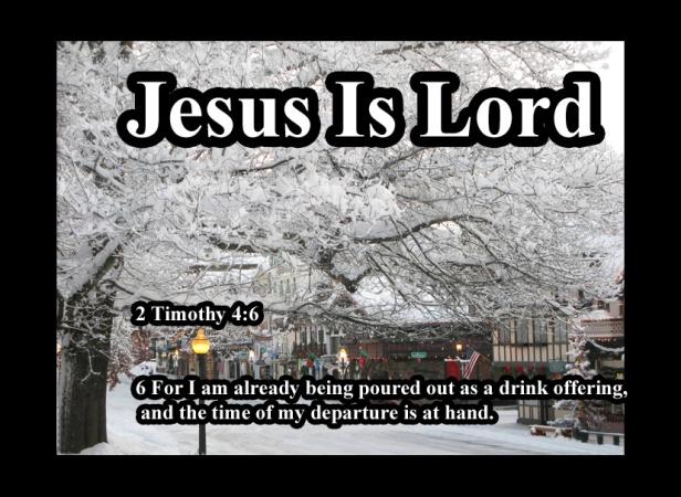 2 Timothy 4 6