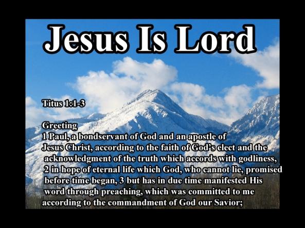 Titus 1  1 3