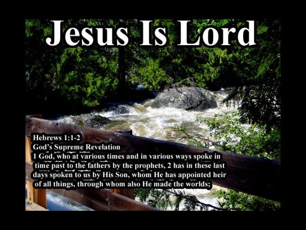 Hebrews 1: 1- 2