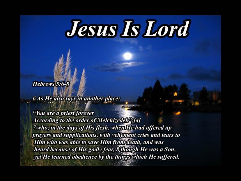 Hebrews 5   8