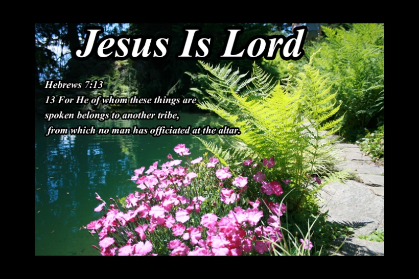 Hebrews 7 13