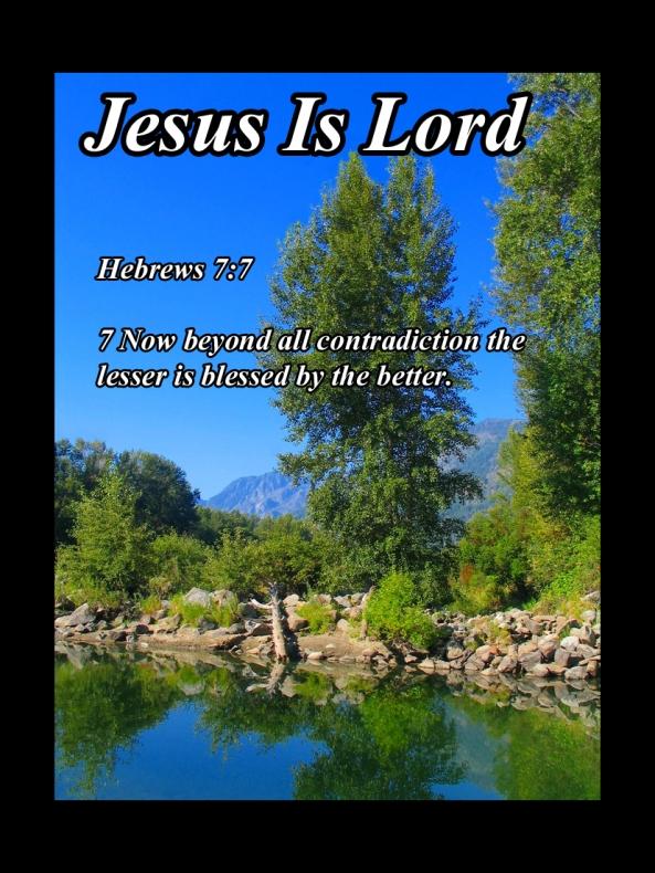 Hebrews 7 7