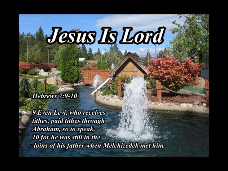 Hebrews  7910