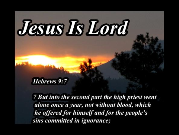 hebrews 9 7