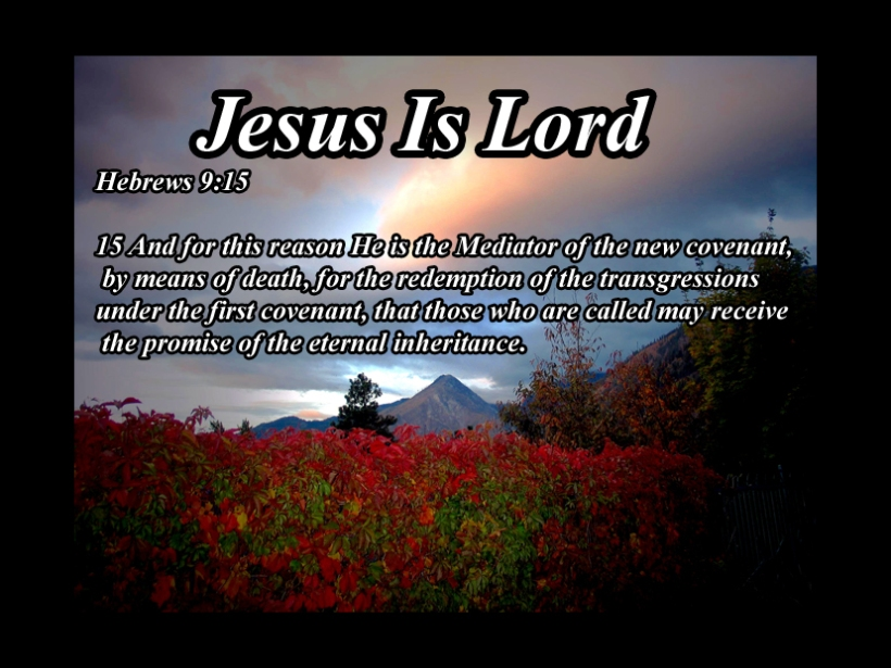 Hebrews 9 15
